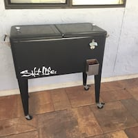 Cooler with bottle opener. Port Charlotte, 33952