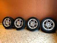 "Porsche 19"" wheels with brand new tires- no damages- factory wheels!!! Las Vegas, 89123"