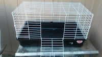 white and black pet cage Austin, 78754