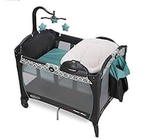 Graco pack & play napper and changer