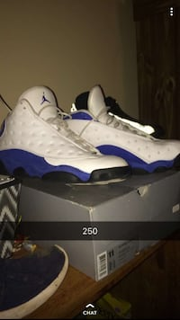 Royal Blue Jordan 13s 510 mi