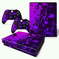 Video game conole and controller paints