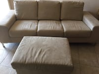 Couch suede with ottoman $120 or obo Westminster, 92683