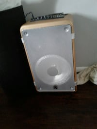 white and gray portable speaker New Carrollton, 20784