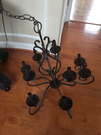 9 Light Chandelier with dark bronze finish Great Falls, 22066
