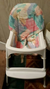 Easy clean high chair