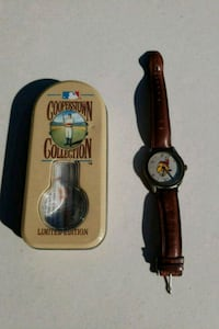 Chief Wahoo Watch-Cooperstown Collection Wadsworth, 44281