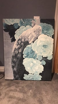 blue and grey flowers painting 538 km