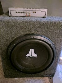 black JL Audio subwoofer speaker Manassas, 20110