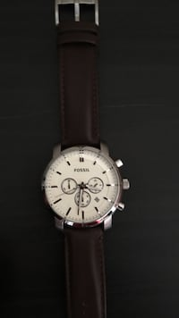 Fossil brown leather watch Toronto, M8V 3N3