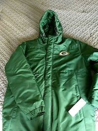 Packers Jacket New with Tags Glenville, 12010