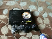 black Sony PS3 super slim console with controllers Indian Head, 20640