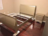 Queen Bed and One Night Stand New in factory packing.  Birmingham, 35234