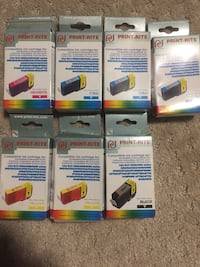 7 packs(EXPIRED)print-rite ink red/black Richmond Hill, L4C
