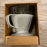 Starbucks pour over coffee maker