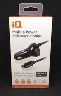iQ Mobile Power rapid in-car charger box Coquitlam, V3J 6P1