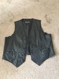 Wilson Extra Large Leather Vest