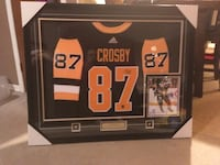 Crosby autographed and framed jersey Strathroy-Caradoc, N7G 3P6