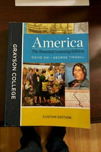 US history book for grayson Sherman, 75092