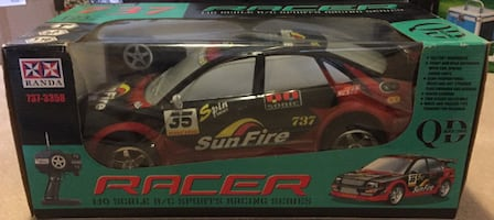 Brand New Sunfire Racer Toy Car!