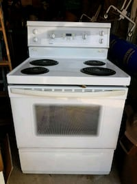 white electric coil range oven Vaughan, L4L 2H4