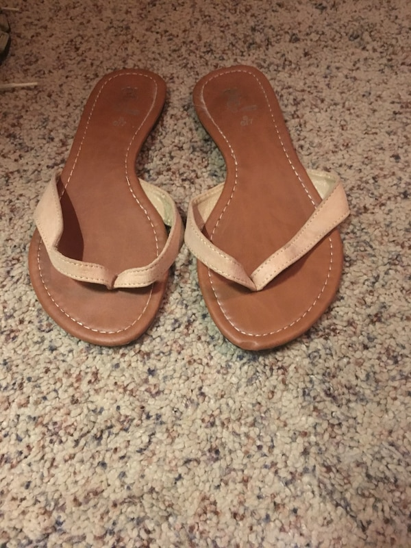 ff8b9da21 Used pair of brown leather sandals for sale in Scottsville - letgo