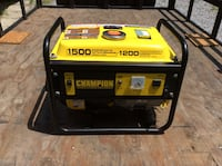 black and yellow Champion portable generator Acton Vale, J0H 1A0