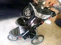 baby's black and gray jogging stroller Alexandria, 22314