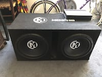 Memphis audio subs and amp  Kennewick, 99336