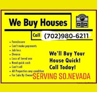 We buy houses in any condition Las Vegas