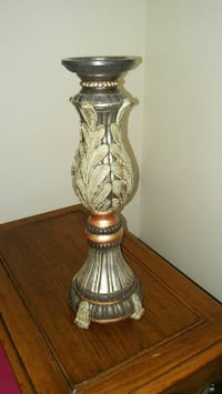 Wooden Pedastal Candle Holder Lincoln, 68502