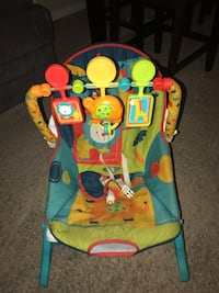 baby's multicolored bouncer Laredo, 78041