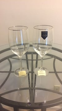 2 Lenox clear wine glasses Olney, 20832