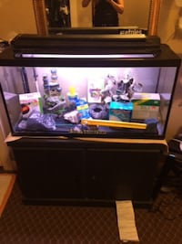 Fish tank and base for sale