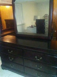 Young Adults 6 Drawer with mirror