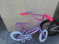 toddler's purple and white bicycle Los Angeles, 90022