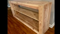 """Handcrafted 63"""" TV Stand  New Orleans"""