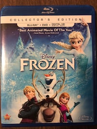 Frozen Movie, Blue Ray + DVD Lakewood, 90715