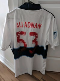 Vancouver Whitecaps soccer jersey  Mississauga