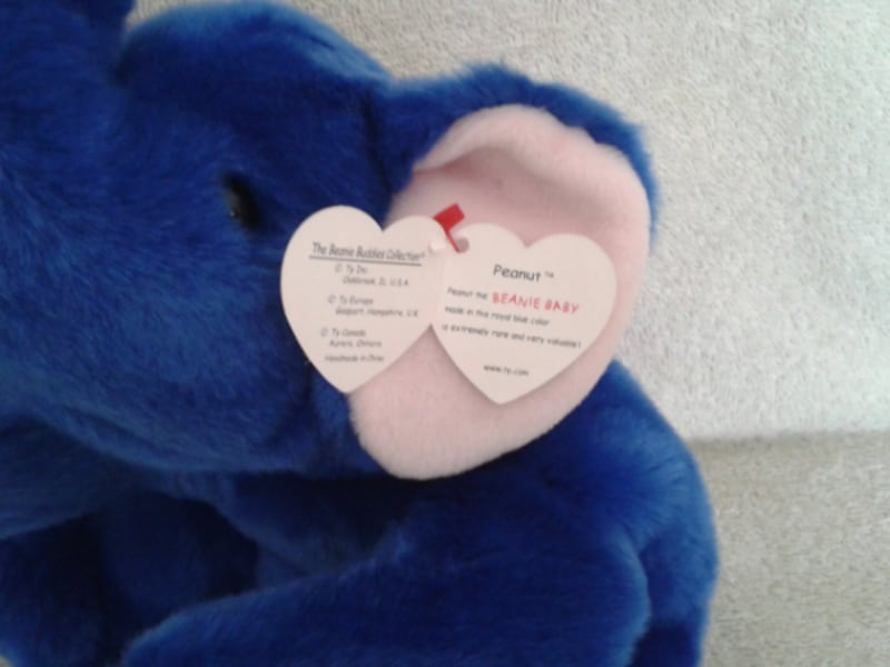 Ty Peanut the Elephant Beanie Buddy 2