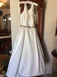 Cream wedding dress. Size 12   San Antonio, 78251