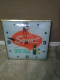 Old squirt clock