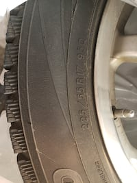 Set of 4 tires AND rims Council Bluffs