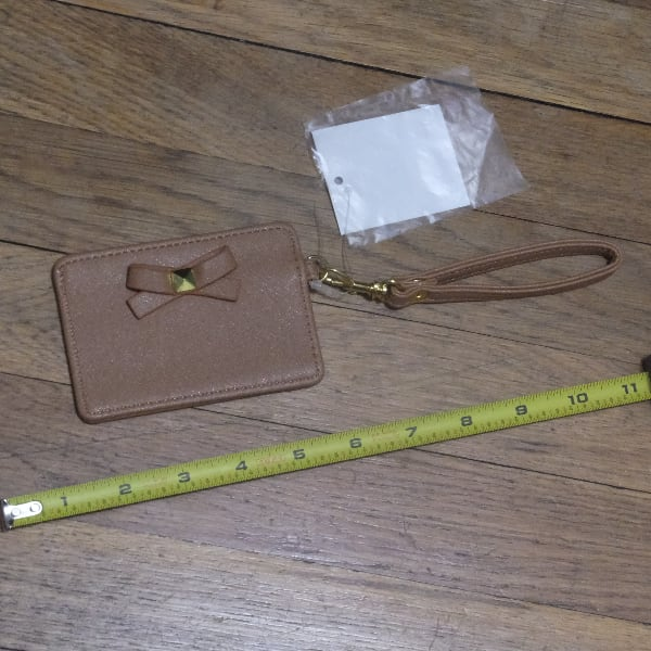 Leather ID or Train Pass Case