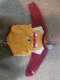 6/9m infant redskin shirt Upper Marlboro, 20772