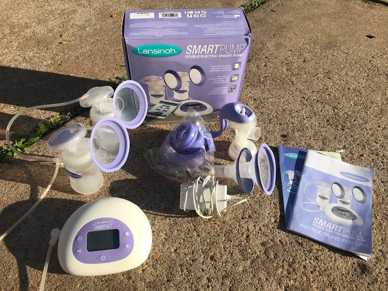 Used Lansinoh Smartpump Double Electric Breast Pump For Sale In