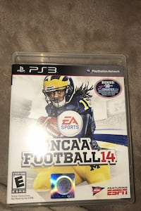 NCAA 14 for ps3