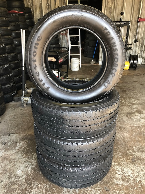 285 60r20 In Inches >> 20 Inch Tire Lt 285 60r20 Firestone Transforce At