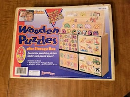 All Wooden puzzles one missed  piece