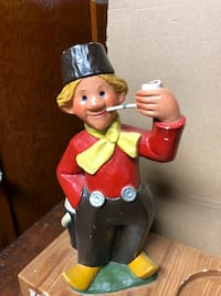 VINTAGE HEINEKEN BEER HOLLAND DUTCH BOY SMOKING PIPE